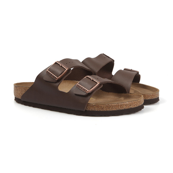 Birkenstock Mens Brown Arizona Sandal main image