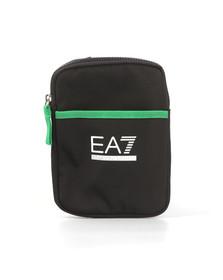 EA7 Emporio Armani Mens Black Evolution Canvas Bag