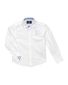 Hackett Boys White Boys Number Shirt