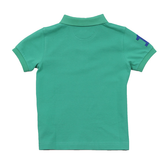 Hackett Boys Green Boys New Classic Number Polo Shirt main image