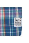 Gant Boys Blue Boys Birdie Madras Check Shirt