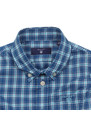Baby Dogleg Poplin Check Shirt additional image