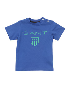 Gant Boys Blue Baby Gant Shield T Shirt