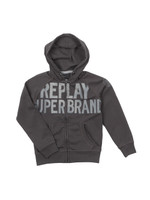 Boys Large Logo Full Zip Hoody