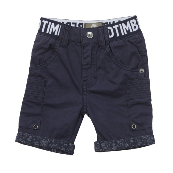 Timberland Boys Blue Baby T04816 Cargo Short main image