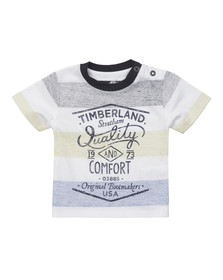 Timberland Boys Yellow Baby T05F63 T Shirt