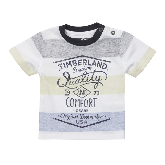 Timberland Boys Yellow Baby T05F63 T Shirt main image