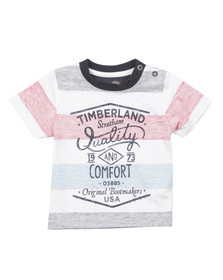 Timberland Boys Blue Baby T05F63 T Shirt