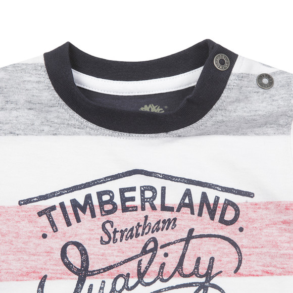 Timberland Boys Blue Baby T05F63 T Shirt main image