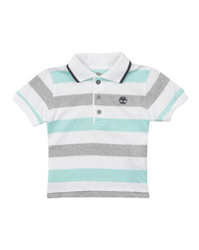 Timberland Boys Blue Baby T0554 Polo Shirt