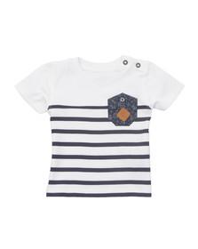Timberland Boys White Baby T05F68 T Shirt