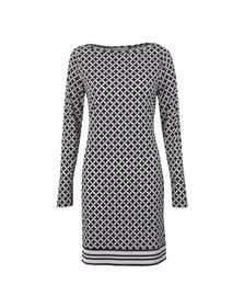 Michael Kors Womens Black Bermont Border Dress