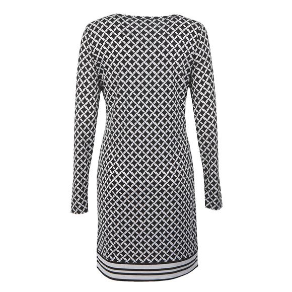 Michael Kors Womens Black Bermont Border Dress main image