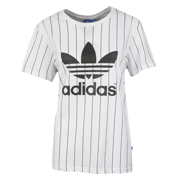 7c82a226839 adidas Originals Womens White BF Trefoil T Shirt main image