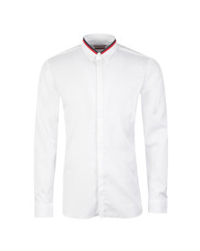 Hugo Mens White Ewid Shirt