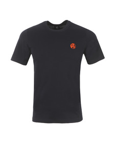 Paul Smith Mens Blue Regular Small Logo T Shirt
