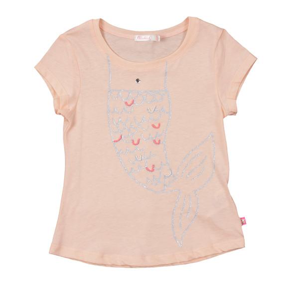 Billieblush Girls Orange Girls U15315 T Shirt main image