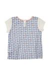 Billieblush Girls Off-white Girls U15304 T Shirt