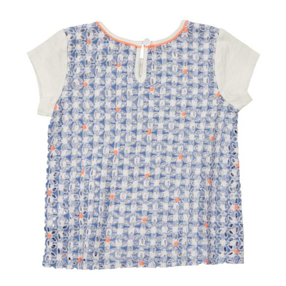 Billieblush Girls Off-white Girls U15304 T Shirt main image