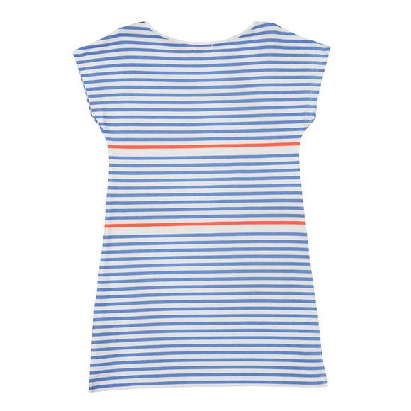 Billieblush Girls Blue Girls U12224 Stripe Dress main image