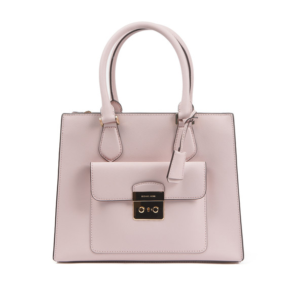 Michael Kors Womens Pink Bridgette Mid EW Tote Bag main image