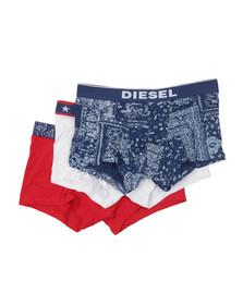Diesel Mens Multicoloured UMBX Shawn 3 Pack Boxer