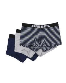 Diesel Mens Blue UMBX Shawn 3 Pack Boxer