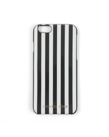 Michael Kors Womens Black Stripe Iphone 6 Cover