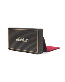 Marshall Unisex Beige Stockwell Speaker With Flip Case