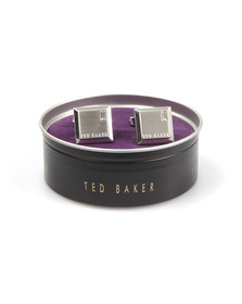 Ted Baker Mens Grey Contrast Square Cufflink