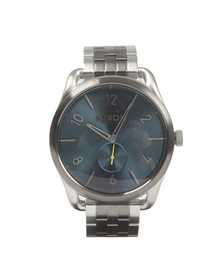Nixon Mens Grey C45 SS Watch