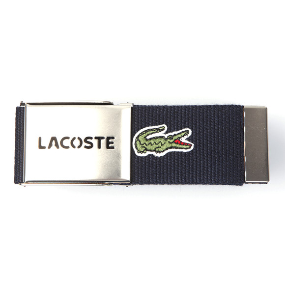 Lacoste Mens Blue Fabric Belt RC2012 main image