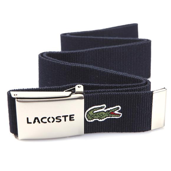 Lacoste Mens Blue Fabric Belt RC2012 main image