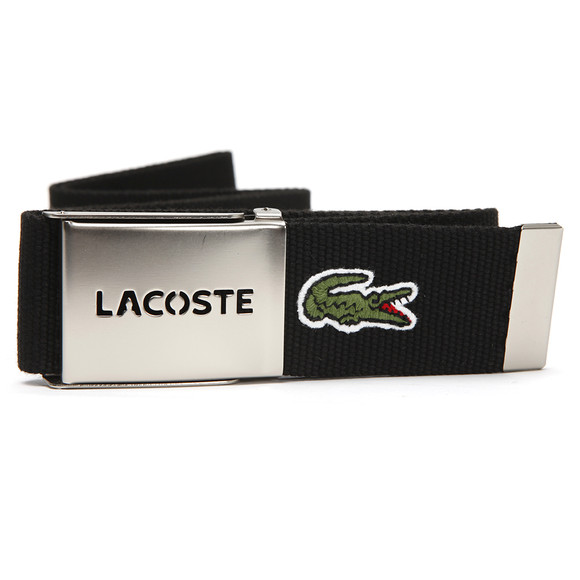 Lacoste Mens Black Fabric Belt RC0012 main image