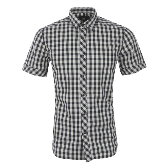 G-Star Mens Blue Landoh Short Sleeve Shirt main image