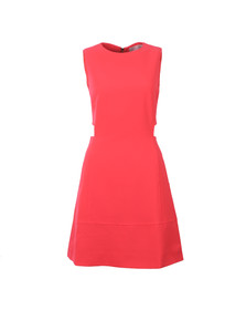 Ted Baker Womens Orange Panashe Cut Out Detail Tunic Dress