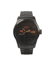 Boss Orange Mens Black Paris Metal Strap Watch
