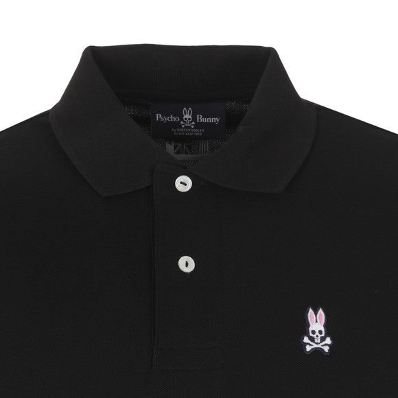 Psycho Bunny Mens Black Classic Polo Shirt main image