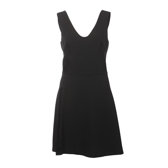 Michael Kors Womens Black Seam Detail Dress main image