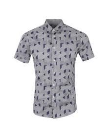 Religion Mens Blue Optic Shirt