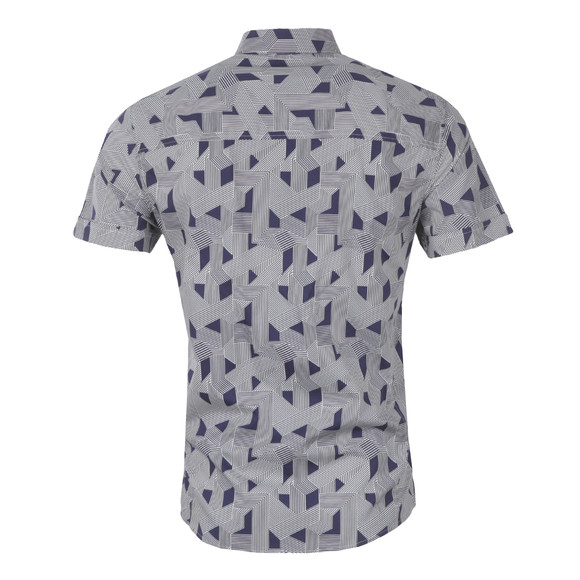 Religion Mens Blue Optic Shirt main image