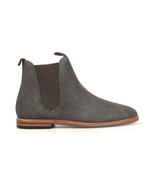 H By Hudson Mens Grey Eldon Suede Boot