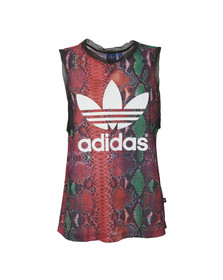 Adidas Originals Womens Multicoloured Soccer Tank Top