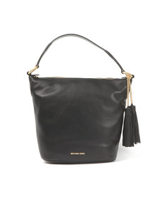 Michael Kors Womens Black Elana Large Shoulder Bag
