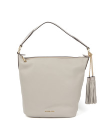 Michael Kors Womens Grey Elana Large Shoulder Bag