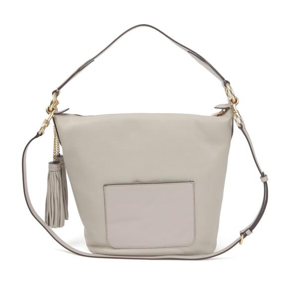 Michael Kors Womens Grey Elana Large Shoulder Bag main image