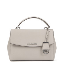 Michael Kors Womens Grey Ava Small Satchel