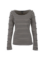 Long Sleeve Breton Top