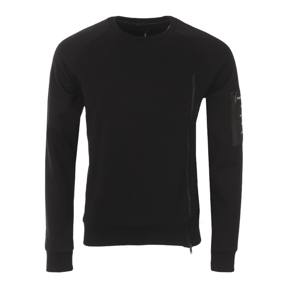 Religion Mens Black Anarchy Crew Sweat main image