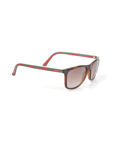Gucci Mens Brown 1055 Sunglasses